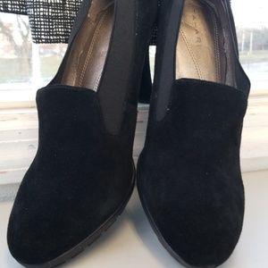 Tahari Black Suede Shoes